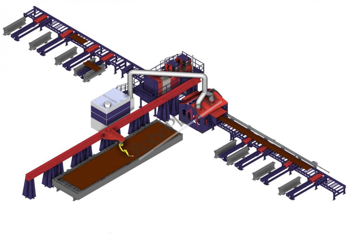 RoboPlazma Structural Steel Cutting Machine